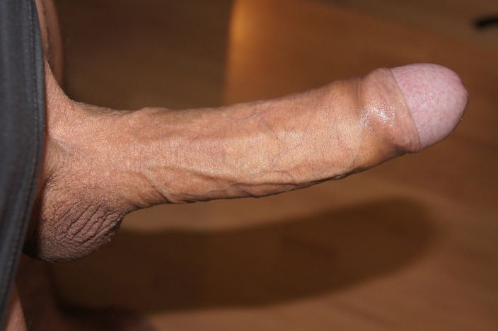 Big fatty uncut master cock